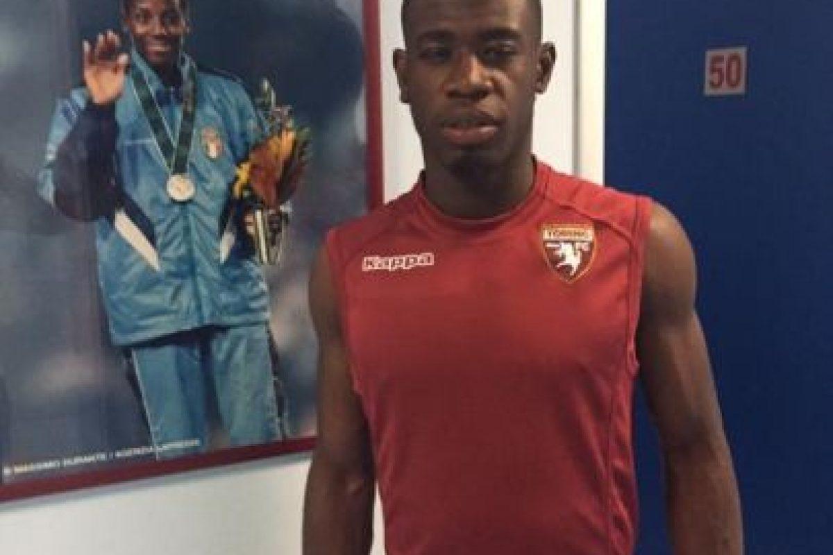 Acquah juega como mediocampista en el Torino de la Serie A. Foto:Vía twitter.com/AcquahAfriyie20