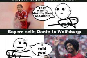 Al igual que Dante. Foto:Vía twitter.com/troll__football