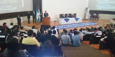 Iván Velásquez, participa en foro en la Universidad de San Carlos de Guatemala