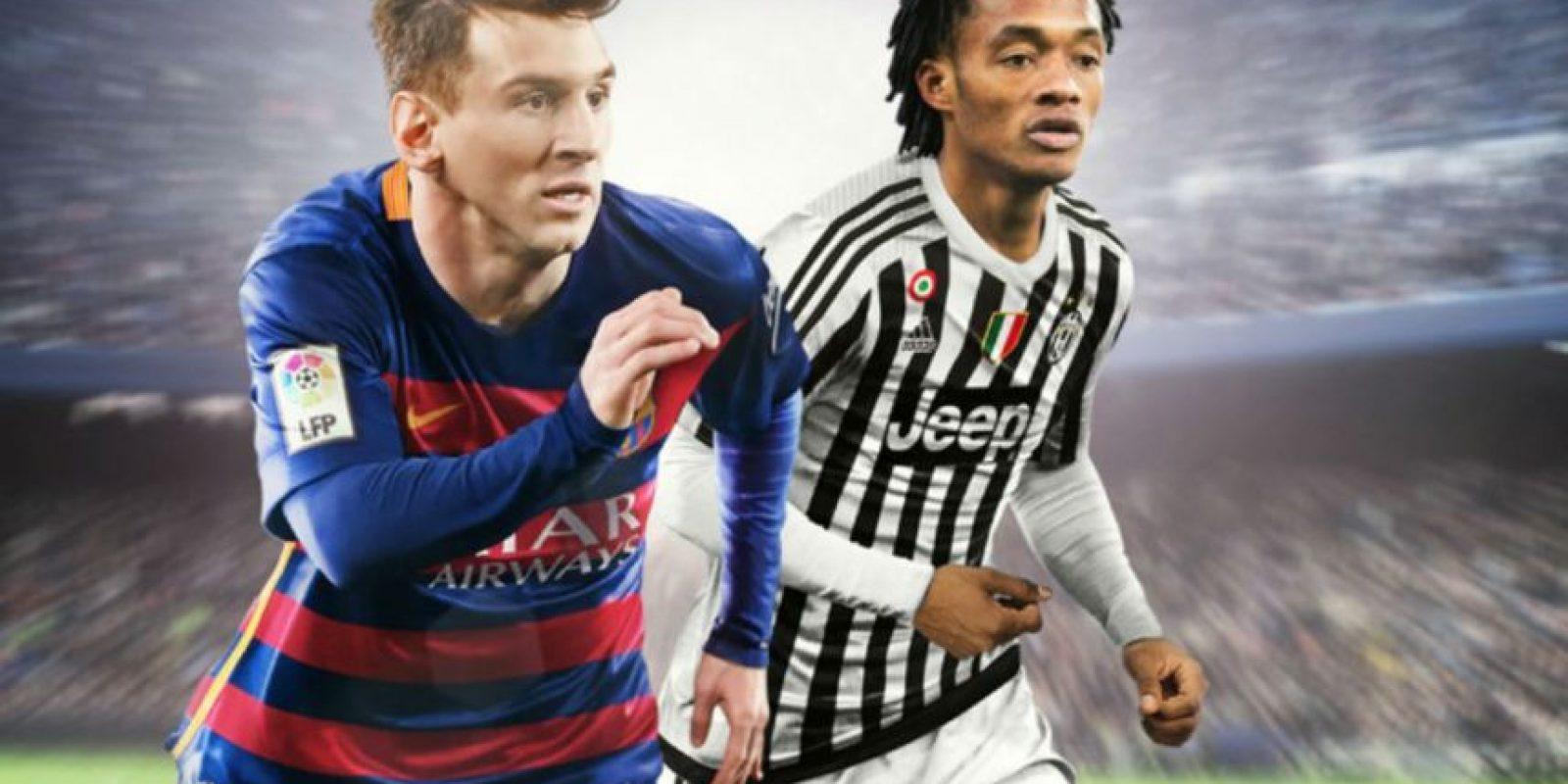 "La nueva portada de ""FIFA 16"" para América Latina. Foto:EA Sports"
