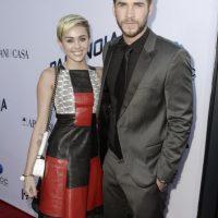 Miley Cyrus estuvo comprometida con el actor australiano Liam Hemsworth. Foto:Getty Images