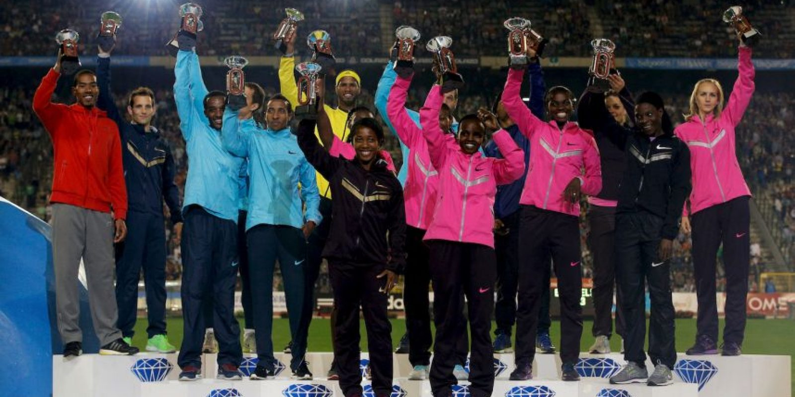 Liga Diamante de Atletismo en Bélgica. Foto: Getty Images
