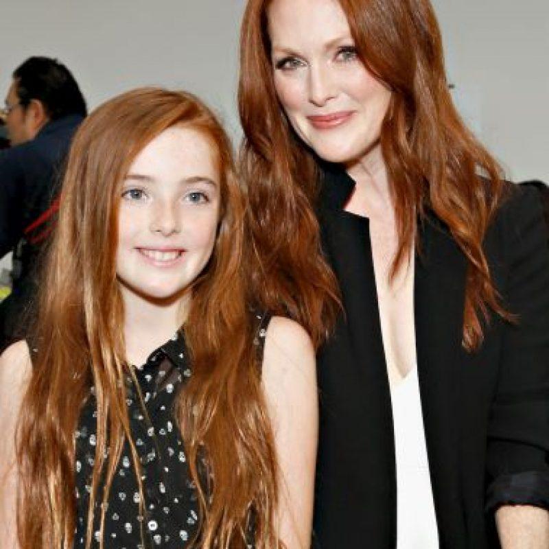 Tuvo a su hija Liv a los 41 años. Foto:Getty Images