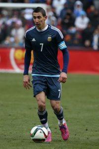Ángel Di María. El PSG francés le dio 63 millones de euros al Manchester United por la carta del argentino Foto:Getty Images