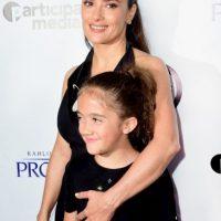 Tuvo a su hija Valentina Paloma en 2007, cuando tenía 41 años Foto:Getty Images