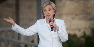 Clinton fue criticada por usar un servidor informático privado para mensajes de correo electrónico de trabajo mientras se desempeñaba como Secretaria de Estado. Foto:Getty Images
