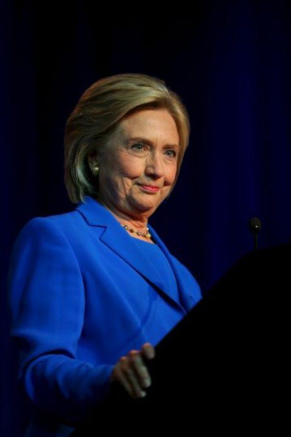 """""""Muchos demócratas instintivamente defienden la conducta de Clinton y reclaman que la historia del correo electrónico está sobrevalorada, mientras que los republicanos asumen lo peor"""" Foto:Getty Images"""