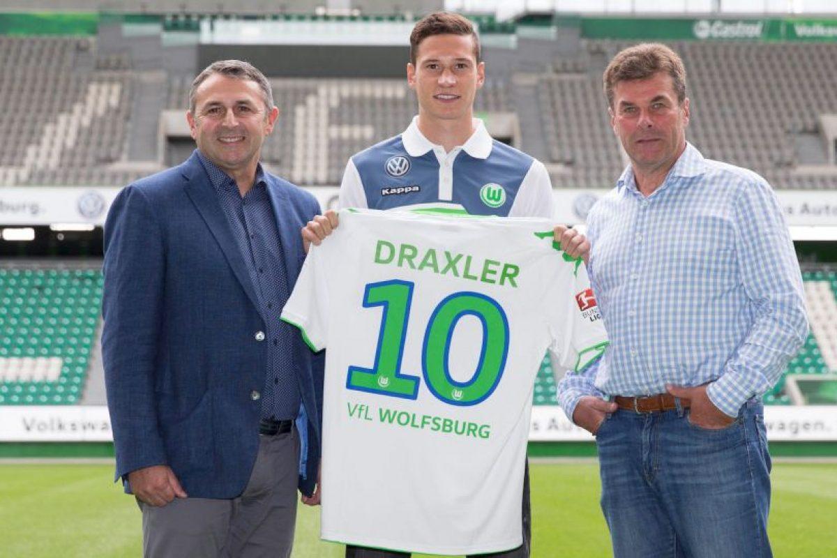 """La """"joya"""" alemana llegó al Wolfsburgo, proveniente del Schalke 04, por 36 millones de euros. Foto:Getty Images"""