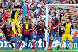 Liga BBVA: Atlético de Madrid vs. Barcelona. Foto:Getty Images