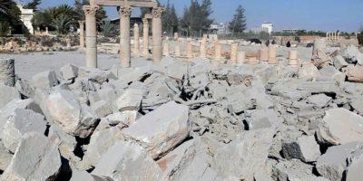 El antiguo templo fue fundado en el 32 d.C. Foto:AP