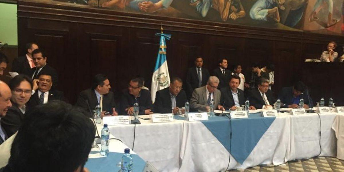 El Congreso discutirá este martes antejuicio contra Otto Pérez