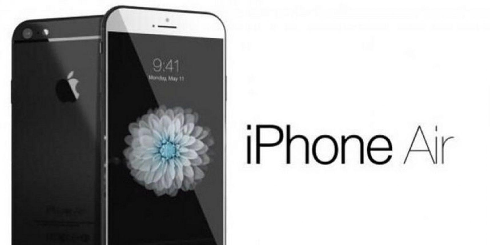 Otros creen que se tratará de un iPhone Air ultradelgado y con pantalla más grande Foto:Tumblr