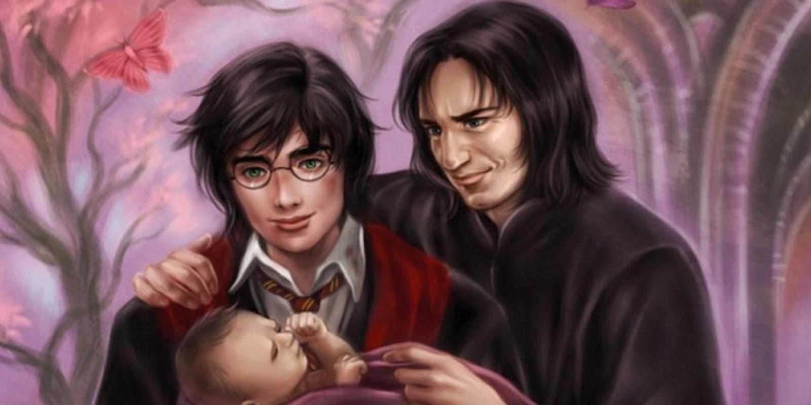 De hecho, en los fanfictions llegan a tener hijos y demás. Foto:vía DeviantArt