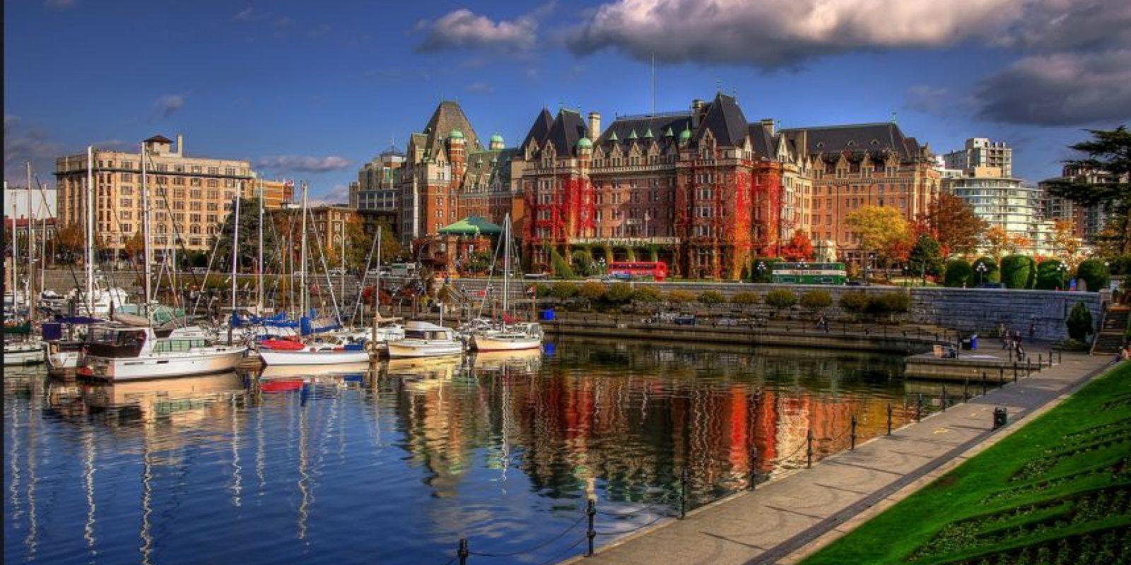 19. Victoria, British Columbia, una ciudad de cuento de hadas, logró 86.593 puntos. Foto:Vía wiki