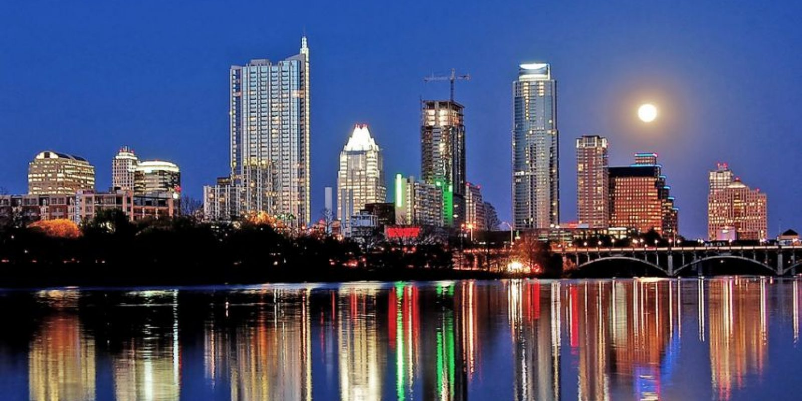 12. Austin, Texas tiene una reputación de ser tranquila y atractiva por eso logró 88.456 puntos a su favor.