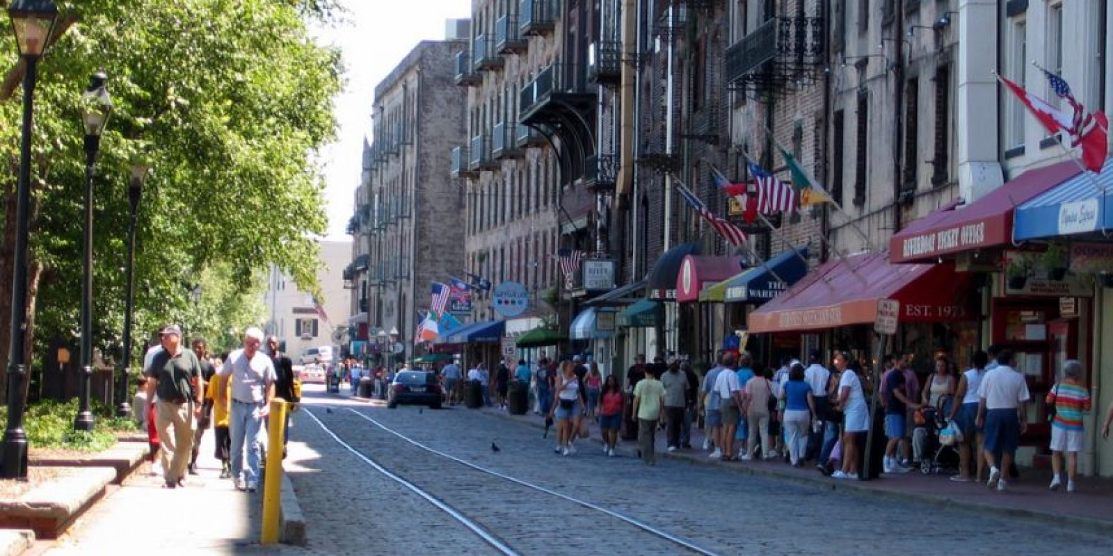 10. Savannah, Georgia, alcanzó 89.167 puntos. Foto:Vía wiki
