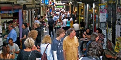 7. Melbourne, Australia tiene en total 90.229. Foto:Vía walkingmelbourne.com