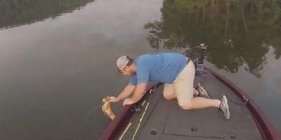 Los jóvenes suelen pescar en el río Warrior de Alabama. Foto:Vía Youtube Alabama Adventures