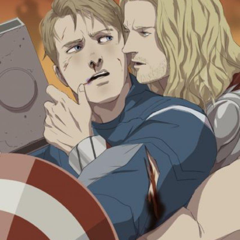 """Pero ni siquiera Thor se """"salva"""". Foto:vía Tumblr"""