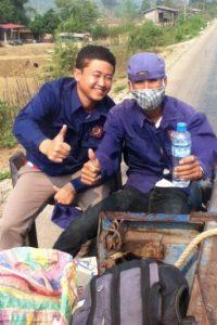 Estas son algunas de las fotos que el budista toma de su vida cotidiana Foto:vía boboandchichi.com