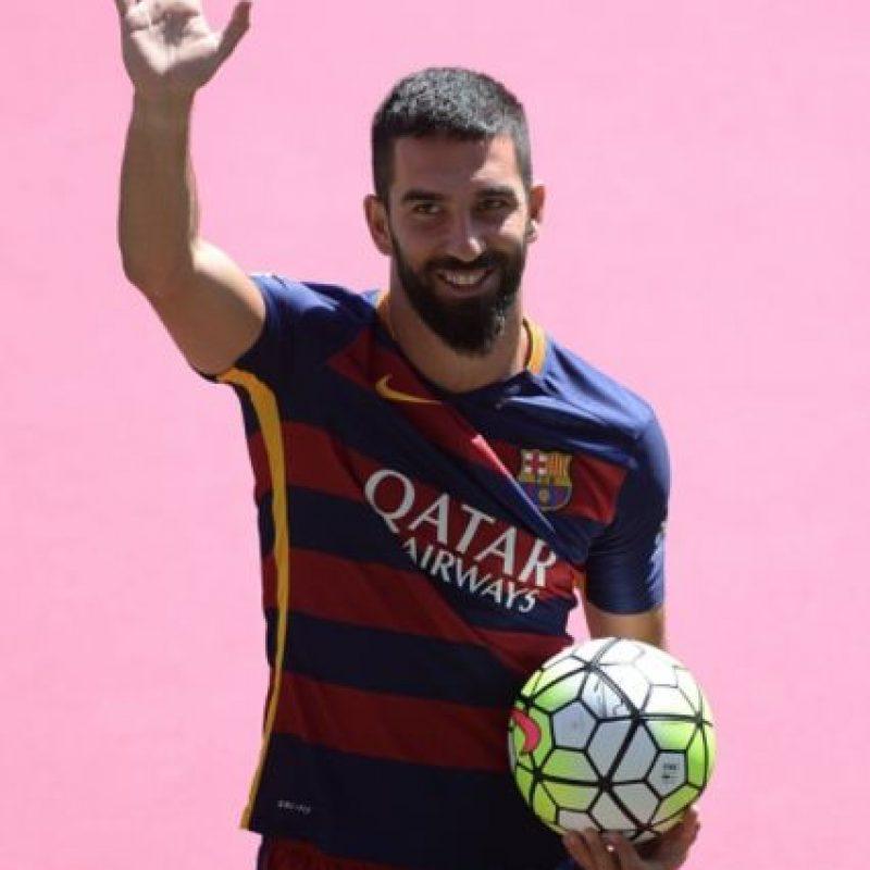 10. Arda Turán (Turquía) / El refuerzo de lujo del Barcelona llegó procedente del Atlético de Madrid por 34 millones de euros. Foto:Getty Images