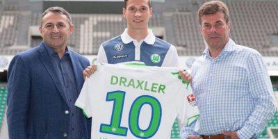 """8. Julian Draxler (Alemania) / La """"joya"""" alemana llegó al Wolfsburgo, proveniente del Schalke 04, por 36 millones de euros. Foto:Getty Images"""