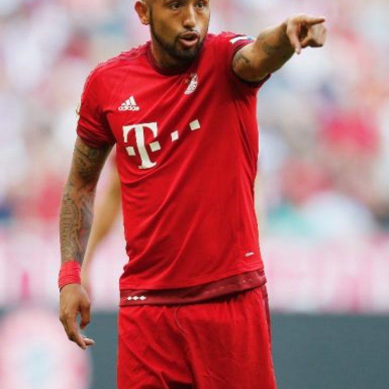 7. Arturo Vidal (Chile) / Fue la transferencia más cara de la Bundesliga, pues Bayern Munich le pagó 37 millones de euros a la Juventus por él. Foto:Getty Images