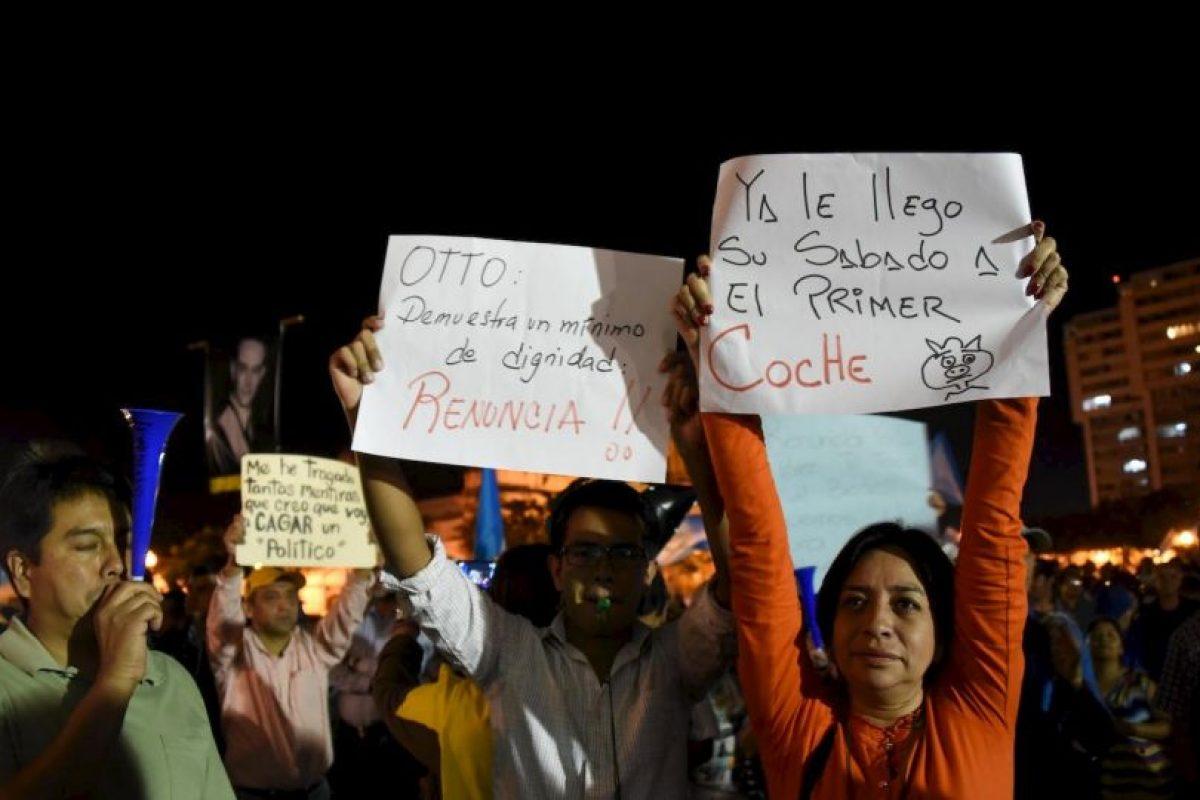 1. El mandato de Pérez Molina termina en 14 de enero de 2016. Foto:AFP