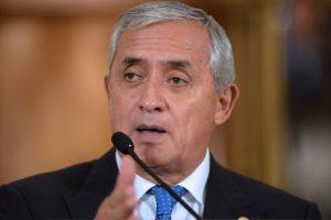 """1. Sospechas: El mandatario guatemalteco fue señalado el 21 de agosto por el colombiano Iván Velásquez, titular de la CICIG, de ser el supuesto cabecilla de la red de defraudación aduanera, llamada """"La Línea"""" Foto:AFP"""