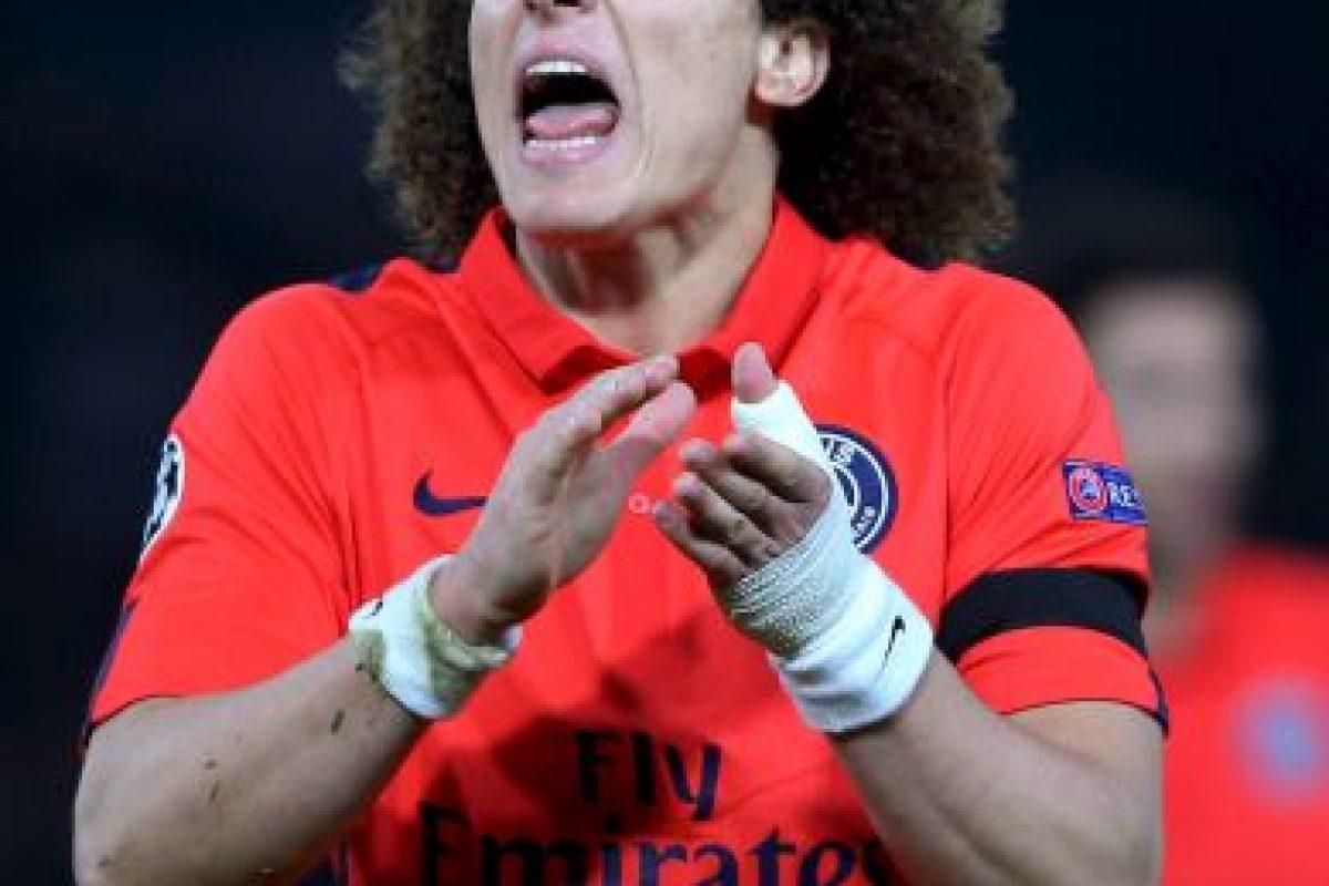 """El medio aseguró que los """"merengues"""" seguían a Luiz desde su etapa con Chelsea, pero que siempre consideraron que estaba muy caro. Ni en el mercado de pases de enero de 2015, ni en el julio-agosto se hizo alguna oferta por él. Foto:Getty Images"""