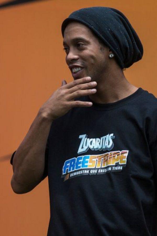 Ronaldinho, de 35 años, es delantero del Fluminense de Brasil. Foto:Getty Images