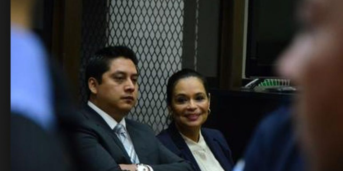 Roxana Baldetti seguirá en Cuartel Matamoros hasta que juez visite cárcel común