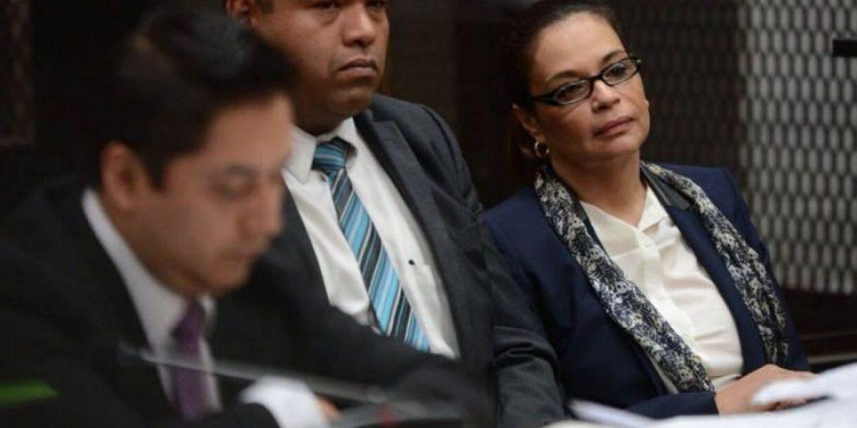 Baldetti seguirá en Cuartel de Matamoros hasta que juez visite cárcel