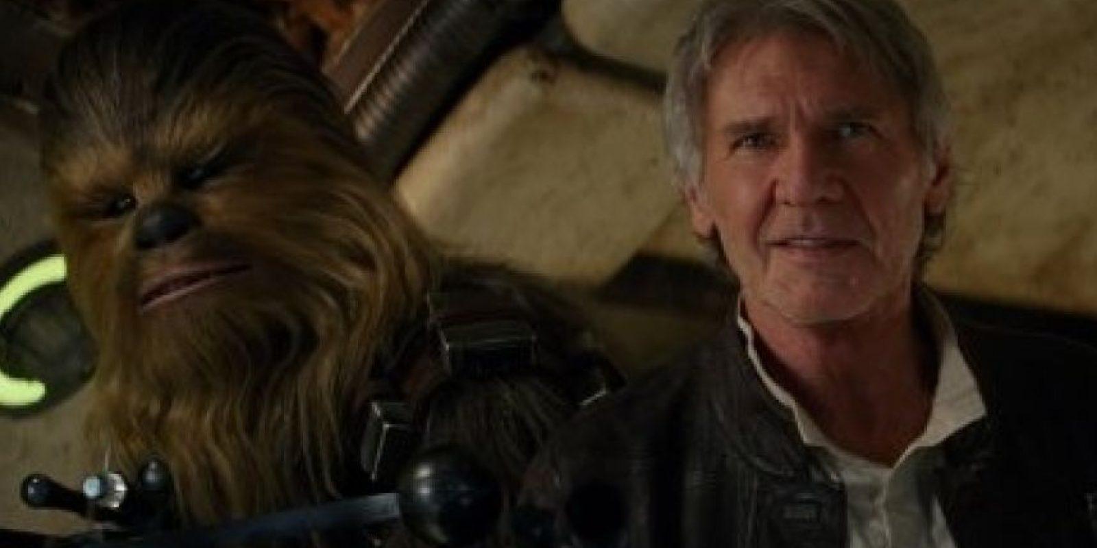 """En esta nueva película volveremos a ver a Harrison Ford interpretando a """"Han Solo"""". Foto:Lucasfilm"""