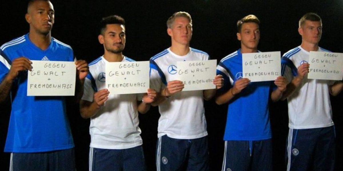 VIDEO. Los campeones del mundo piden compasión para refugiados