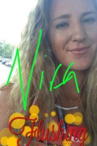 La bielorrusa Victoria Azarenka compartió con sus fans este selfie, en medio de su participación en el US Open. Foto:Vía twitter.com/vika7