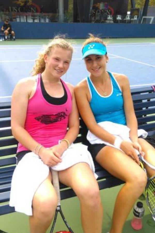 La suiza Belinda Bencic previo a su debut en el US Open. Foto:Vía twitter.com/BelindaBencic