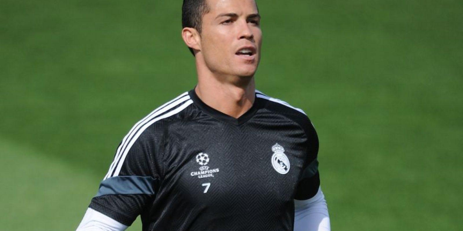 Cristiano Ronaldo juega como extremo en el Real Madrid y tiene 30 años. Foto:Getty Images