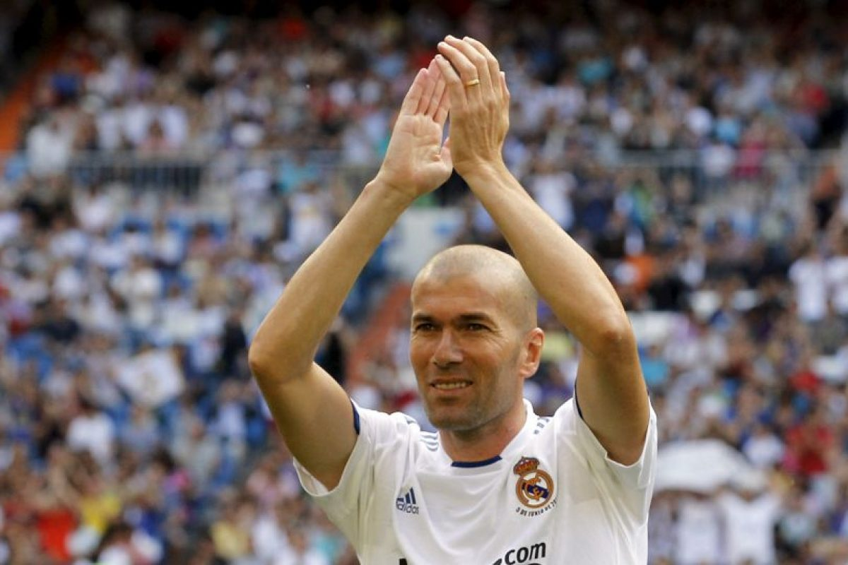 6. Zinedine Zidane Foto:Getty Images