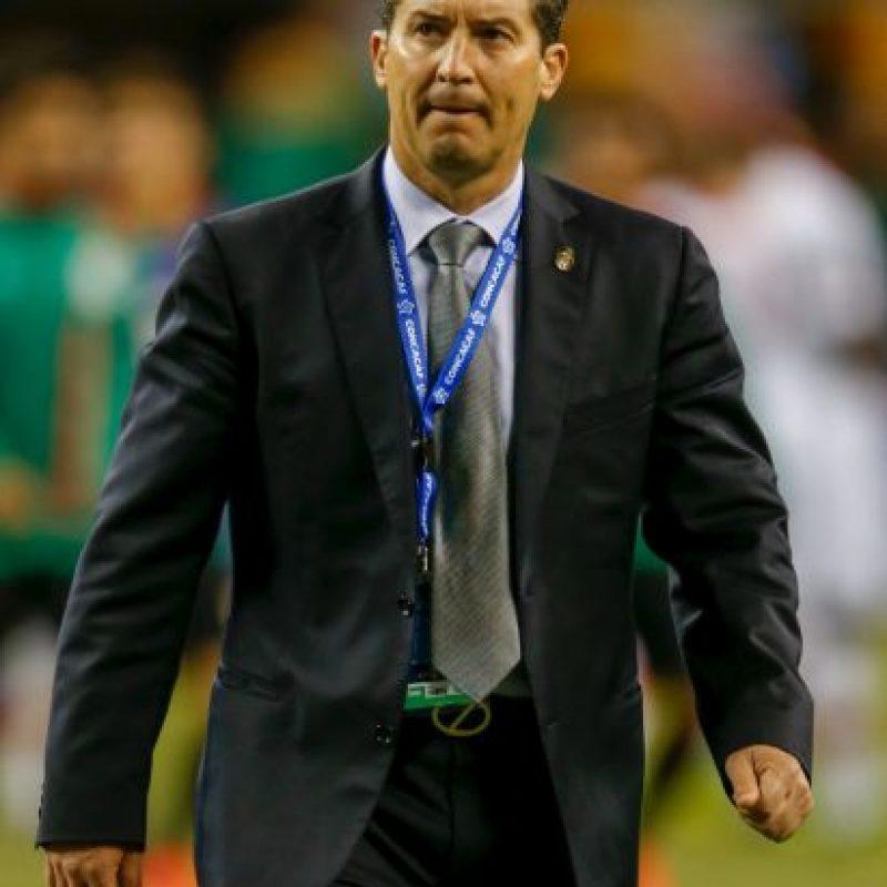 El extécnico de la Selección de México pagó caro su pésimo trato con la prensa Foto:Getty Images
