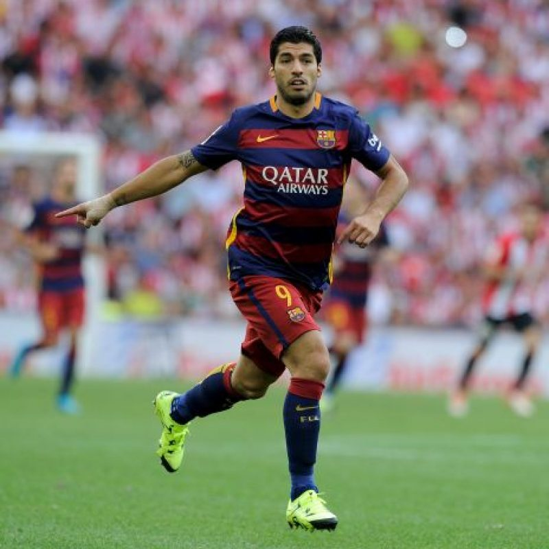 4. Luis Suárez Foto: Getty Images
