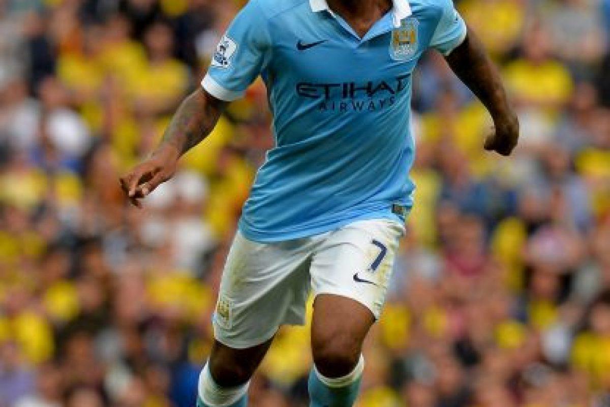 10. Raheem Sterling. Manchester City pagó al Liverpool 68 millones de euros por el delantero inglés de origen jamaicano Foto:Getty Images