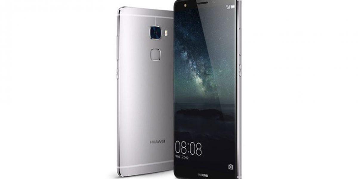 Huawei presenta smartphone con