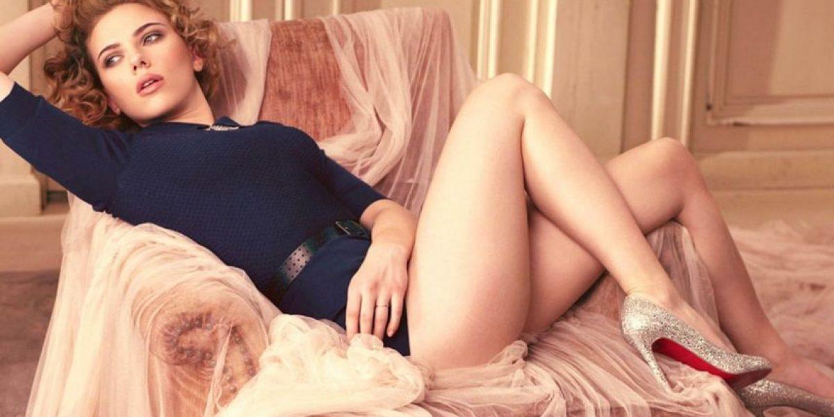 FOTO. Sin maquillaje, Scarlett Johansson le envío un mensaje a las mujeres
