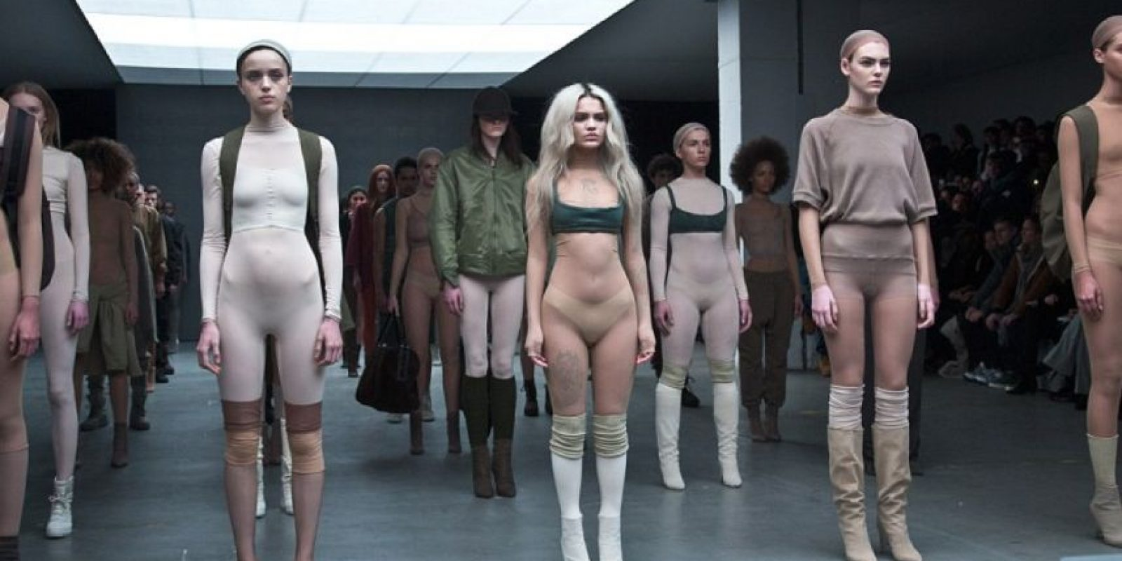 Pero Wang no vende ropa cara a menos que no proponga algo original. Foto:vía Getty Images