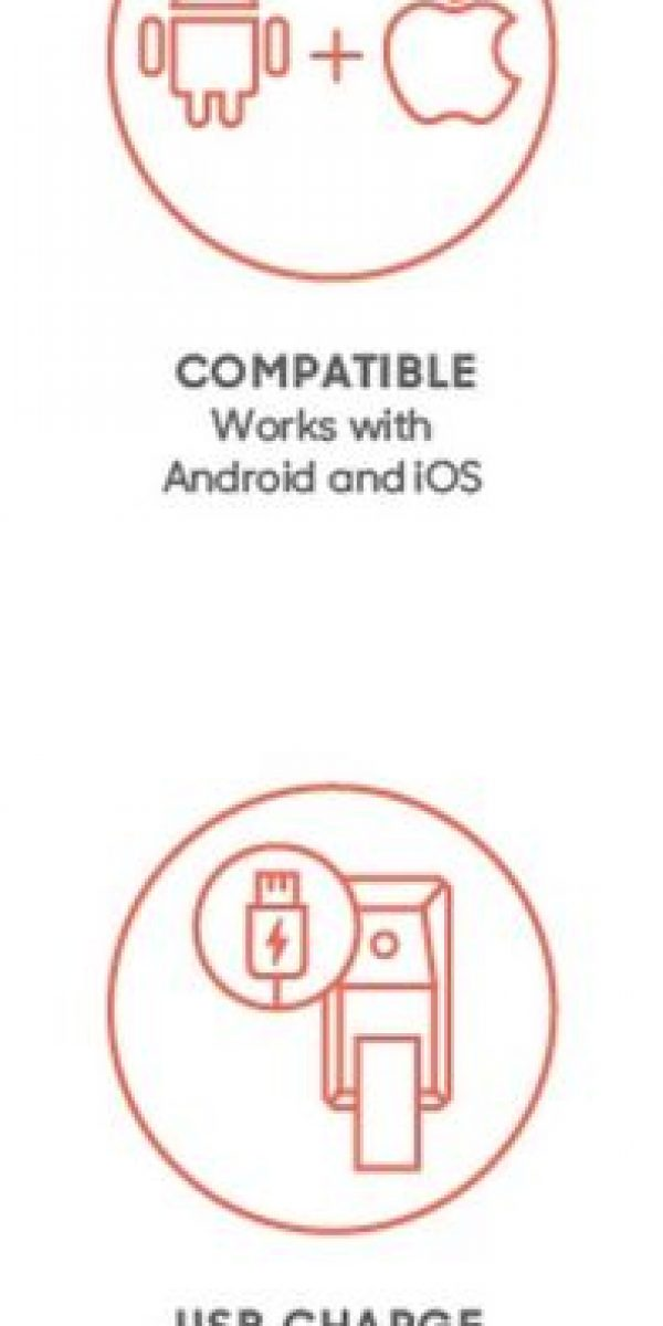 El software es compatible con Android y iOS. Cuenta con cargador USB independiente Foto:Matter And Form Inc.