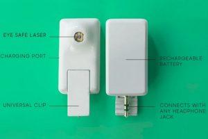 Estas son las partes del dispositivo Foto:Matter And Form Inc.