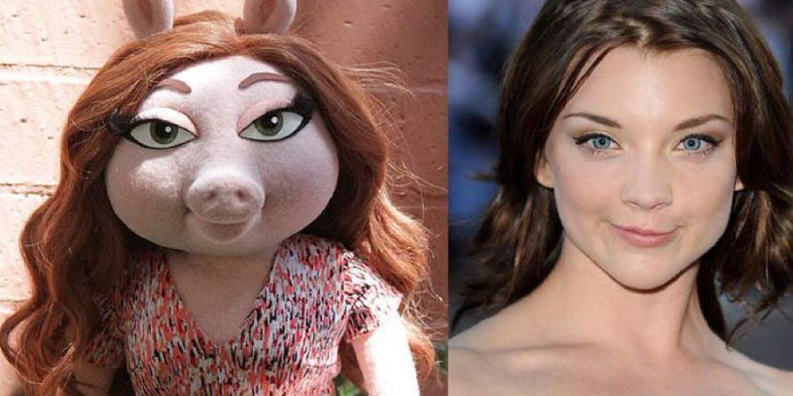 Ya han comenzado las comparaciones con famosas. Foto:vía Twitter