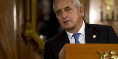 El presidente de Guatemala Otto Pérez perdió su inmunidad gracias al Congreso de su país. Foto:vía AP