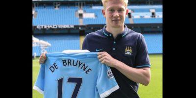 1. Kevin de Bruyne (Manchester City) = 74 millones de euros. Foto:Vía twitter.com/MCFC